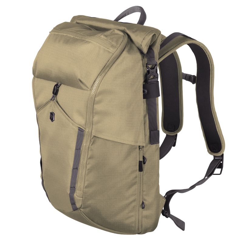 Deluxe Rolltop Laptop Backpack