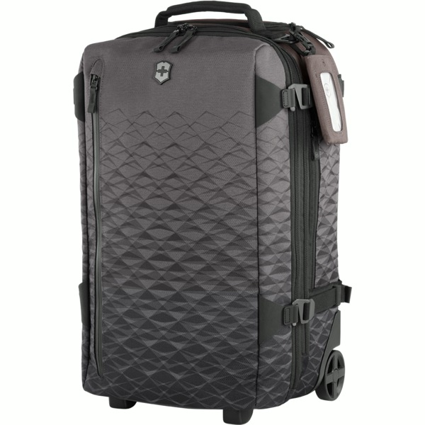 šedé zavazadlo Victorinox Vx Touring 55cm Wheeled 2-in-1 Carry-On
