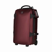 victorinox Wheeled Global Carry-On beetroot coated